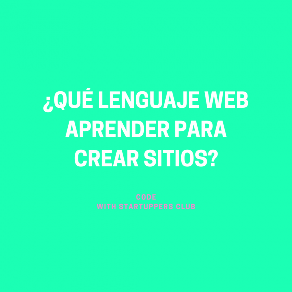 Código - Que lenguaje web aprender para crear sitios