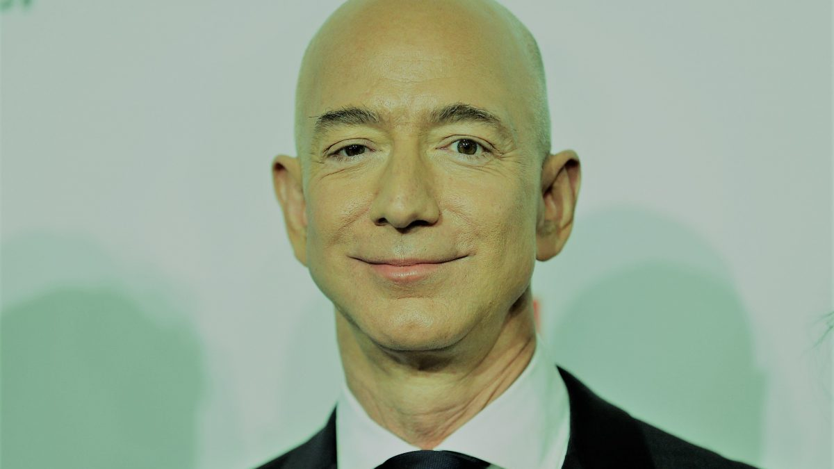 Jeff Bezos, CEO d'Amazon et de Blue Origin