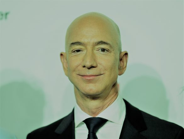 Jeff Bezos, CEO d'Amazon