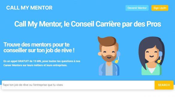 Call My Mentor - Startup RH de conseil en carriere